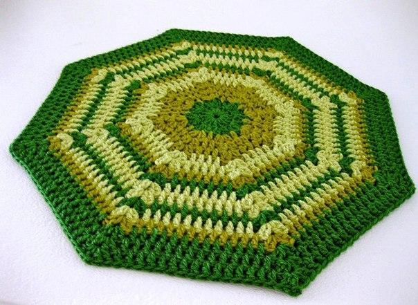 Коврик - восьмиугольник