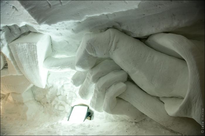 снежный грот в альпах фото 6 (700x467, 262Kb)
