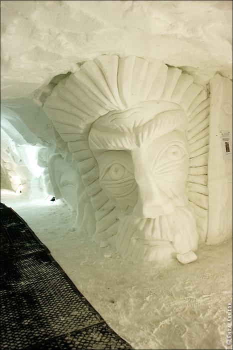 снежный грот в альпах фото 7 (466x700, 349Kb)