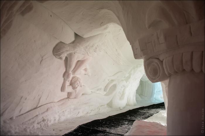 снежный грот в альпах фото 18 (700x467, 247Kb)
