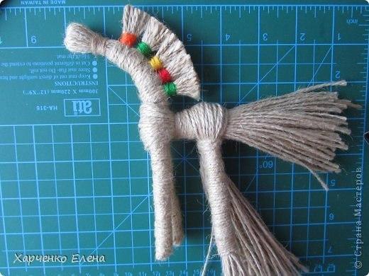 Лошадки из веревки своими руками