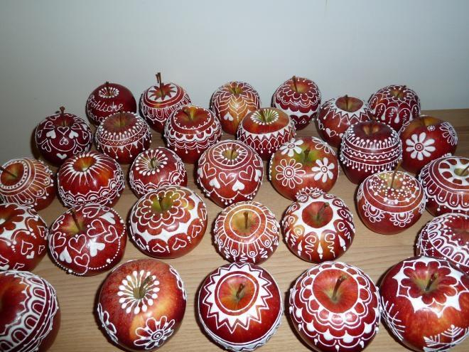 Ажурные яблочки к Рождеству. Очень красиво) (8) (660x495, 251Kb)