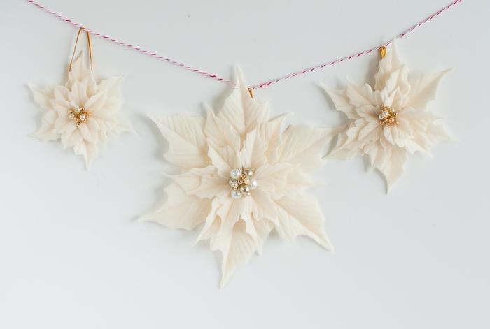Poinsettia.  Ideas y clase magistral sobre la escultura de la estrella de Navidad (22) (700x471, 117Kb)