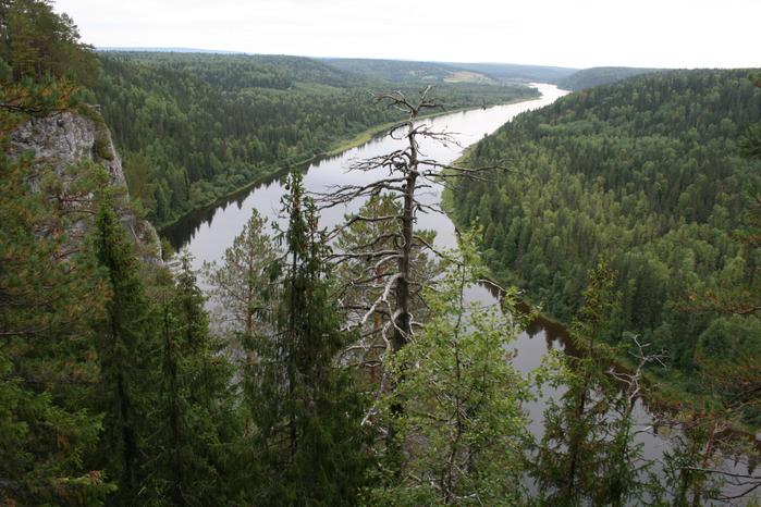 Река Инзер течет в Республике