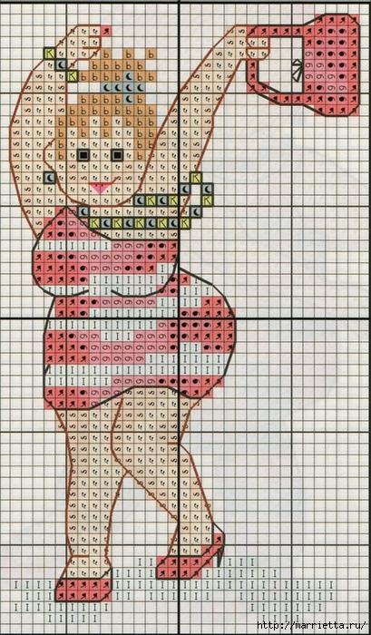 Прикольная вышивка. Девочки зажигают) (6) (409x700, 331Kb)