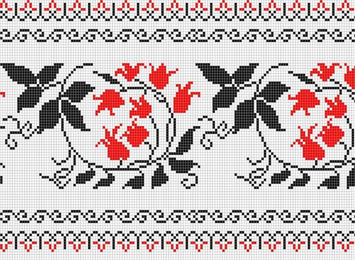 Орнаменты для вышивки
