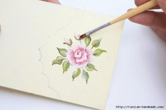 Фото мастер-класс по росписи стеклянной масленки (12) (575x381, 74Kb)