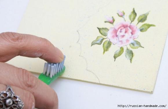 Фото мастер-класс по росписи стеклянной масленки (14) (580x378, 86Kb)