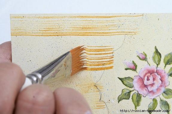 Фото мастер-класс по росписи стеклянной масленки (16) (575x382, 130Kb)