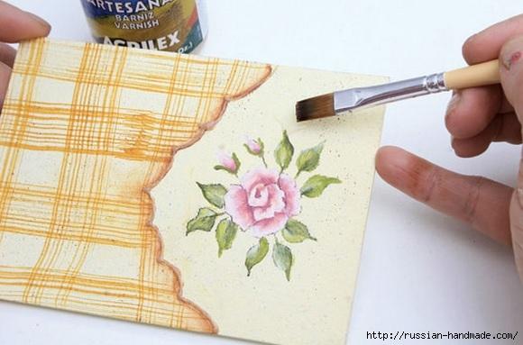 Фото мастер-класс по росписи стеклянной масленки (21) (580x383, 135Kb)