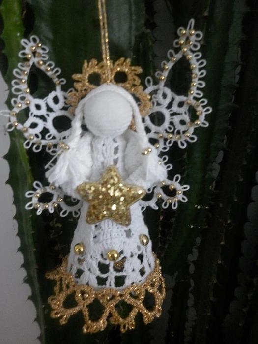 Рождественские ангелы крючком (10) (525x700, 223Kb)