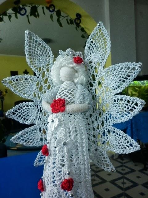 Рождественские ангелы крючком (24) (480x640, 244Kb)