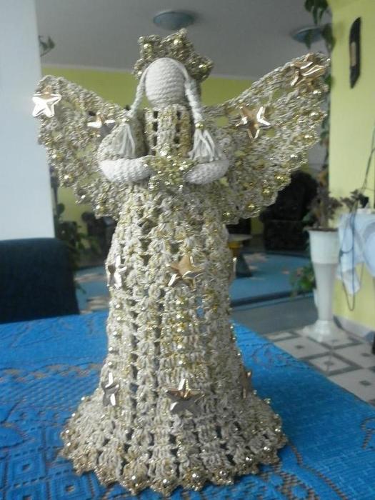 Рождественские ангелы крючком (33) (525x700, 257Kb)