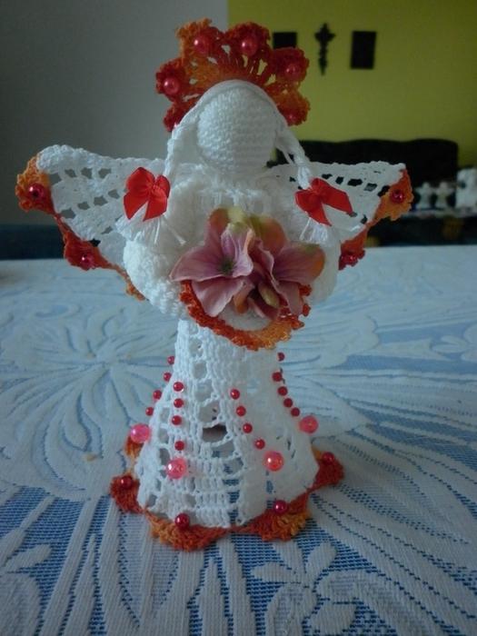 Рождественские ангелы крючком (54) (525x700, 256Kb)