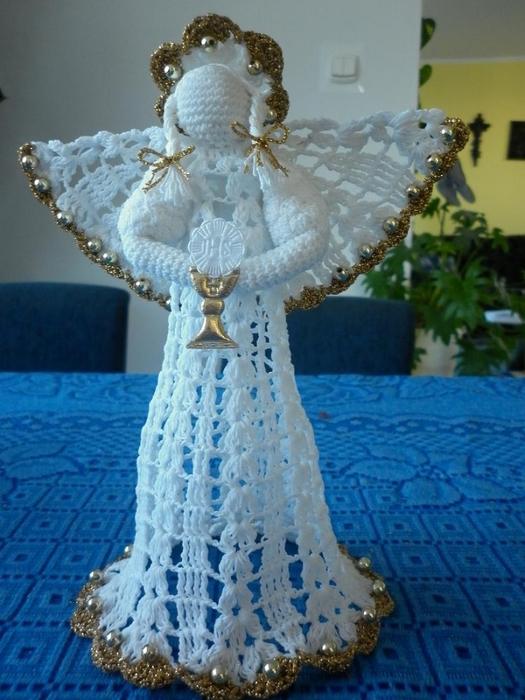 Рождественские ангелы крючком (56) (525x700, 262Kb)