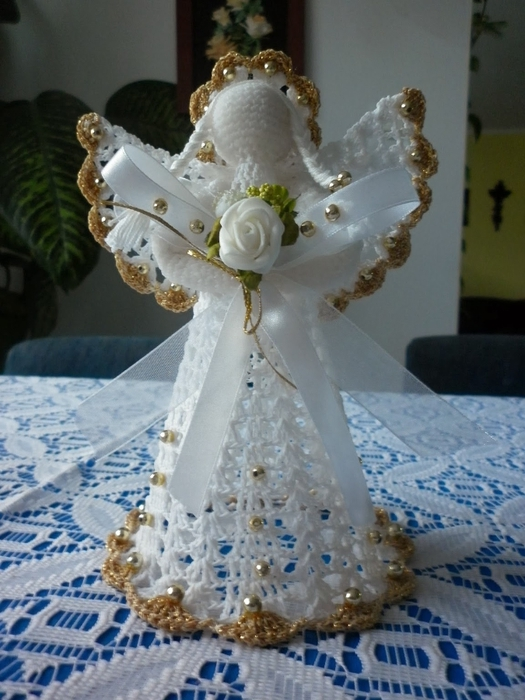 Рождественские ангелы крючком (78) (525x700, 258Kb)