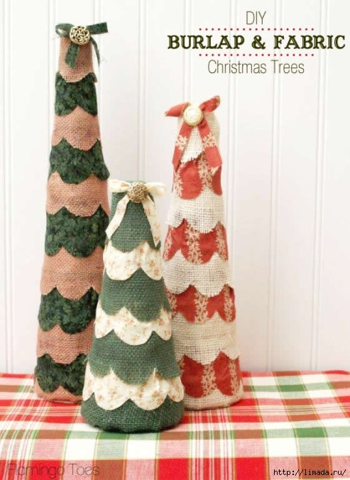 DIY-Burlap-and-Fabric-Christmas-Trees-493x676 (493x676, 201Kb)
