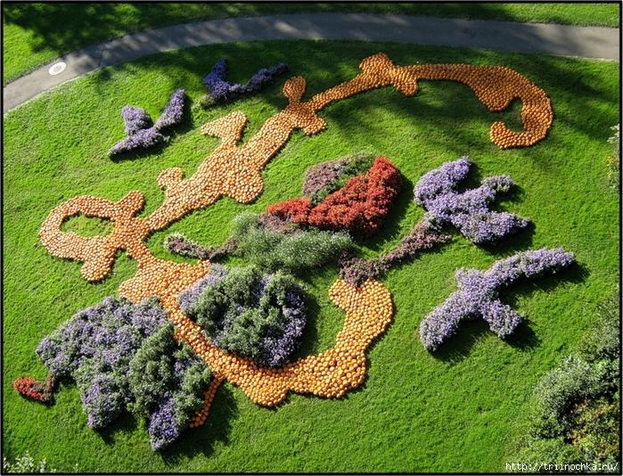 Выставка тыкв в королевском парке Людвигсбург!