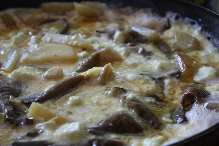 Вешенки с картофелем и сыром (700x466, 41Kb)