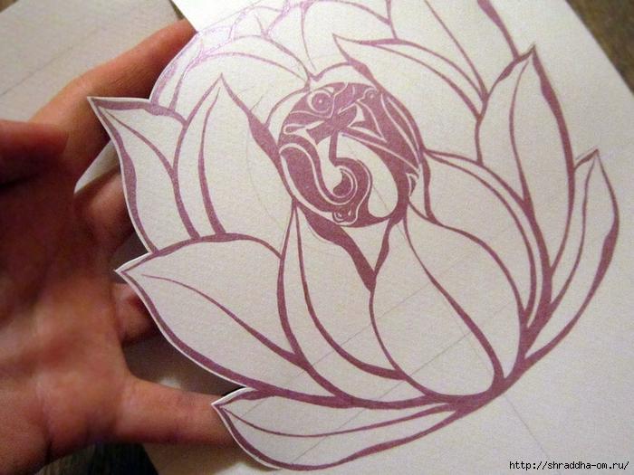 мастер-класс по открытке, автор Shraddha (9) (700x525, 294Kb)