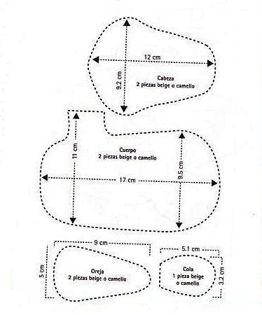 ОЛЕНЬ из фетра. Мастер-класс (17) (374x450, 70Kb)