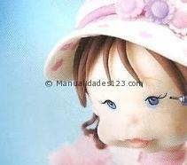 Куколка из холодного фарфора. Фото мастер-класс (19) (211x186, 23Kb)