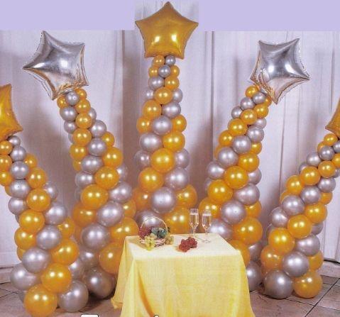 Воздушные шары в интерьере детского праздника. Мастер-классы (44) (479x447, 107Kb)