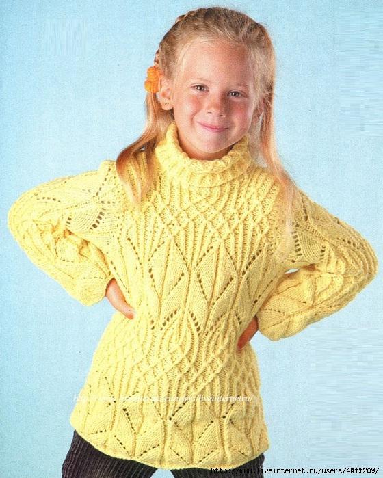 Детский-пуловер (560x699, 317Kb)