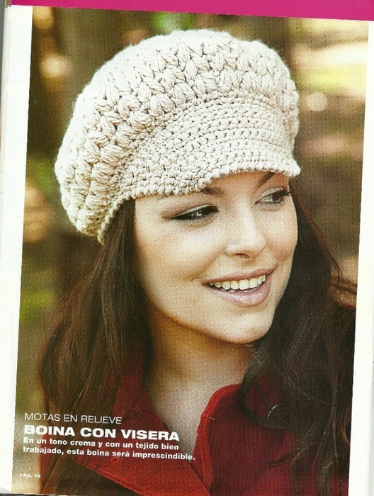 Красивые шляпы вязания крючком