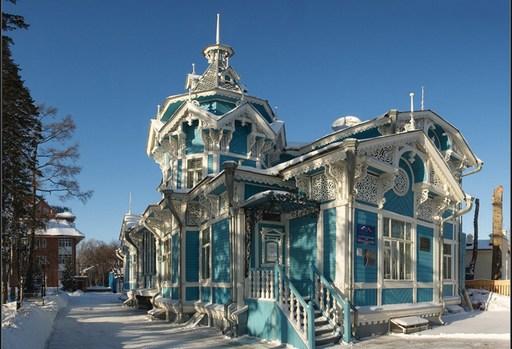 Томск деревянные дома фото