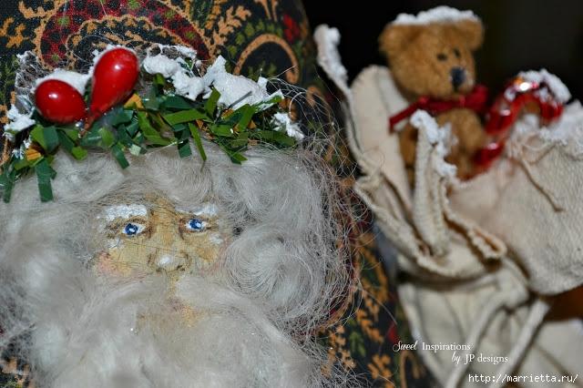 Дед Мороз и елочная игрушка из картона (17) (640x426, 219Kb)