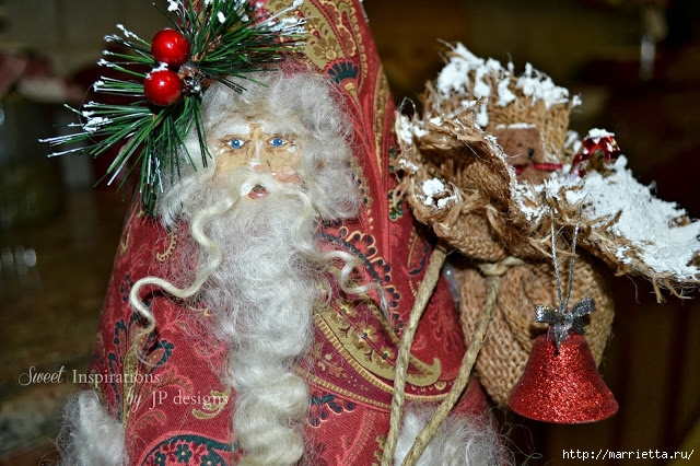 Дед Мороз и елочная игрушка из картона (21) (640x426, 268Kb)