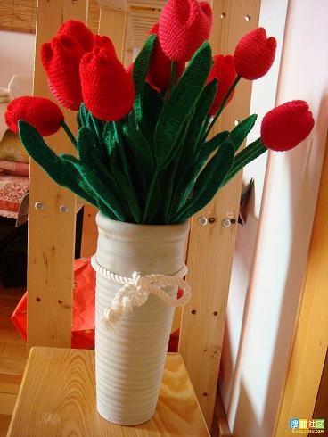 Вязание цветов крючком. ТЮЛЬПАНЫ (1) (368x490, 119Kb)