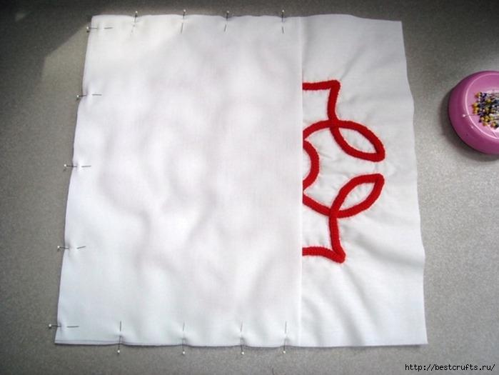 Декорирование подушки в кельтском стиле. Мастер-класс (10) (699x525, 150Kb)