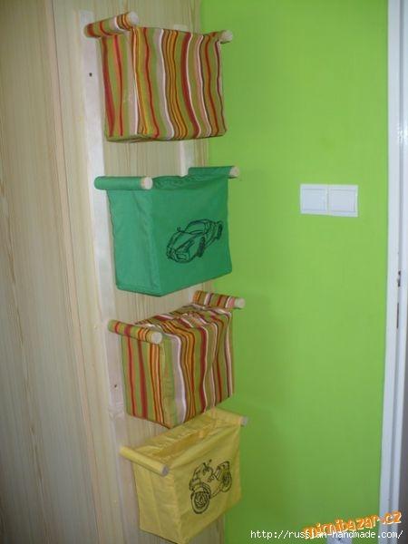 Отличная идея для ванной комнаты. Шьем кармашки (4) (450x600, 91Kb)