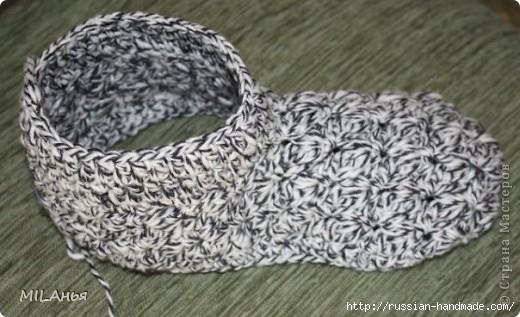Вяжем крючком теплые тапочки (10) (520x317, 121Kb)