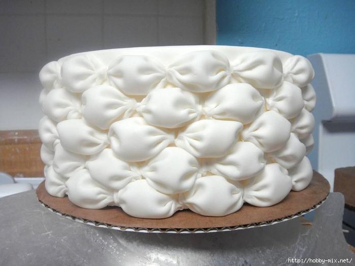 Оформление торта мастикой. Буфы. - PM