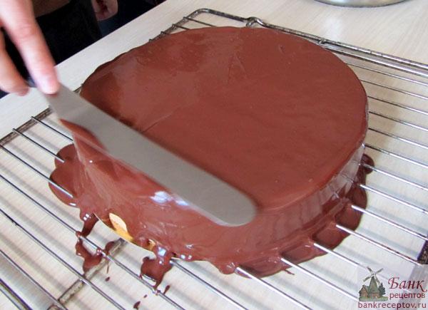 Как сделать шоколадную глазурь на воде