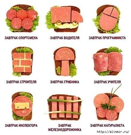 идеи бутербродов (437x450, 114Kb)