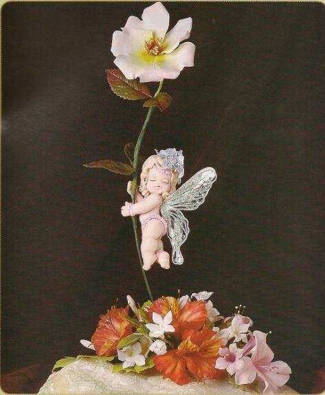 Сказочный эльф для детского торта. Лепка из мастики (21) (473x574, 119Kb)