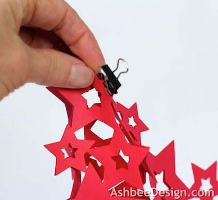 Новогодние елочки из картона. Открытка и силуэтная елочка (25) (450x414, 83Kb)
