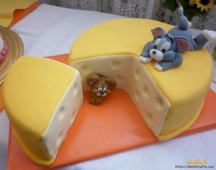 Том и Джерри из мастики для торта. Мастер-класс (2) (699x551, 118Kb)
