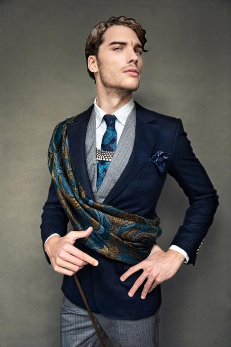 стильная мужская одежда фото 2 (466x700, 213Kb)