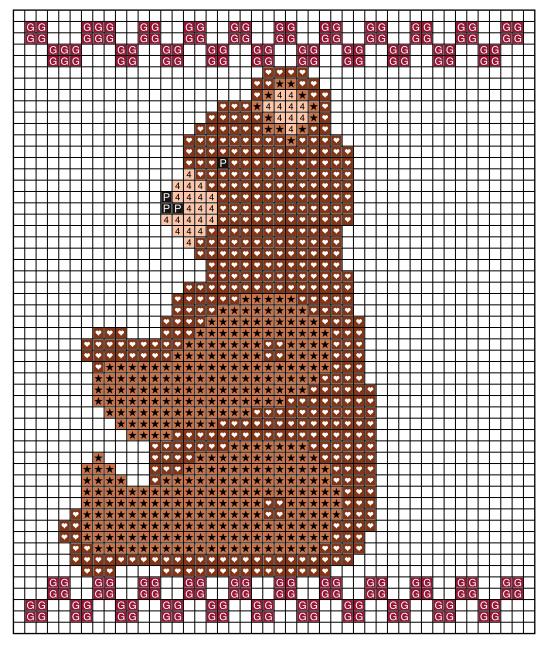 Рождественская вышивка. Схемы (8) (549x647, 101Kb)