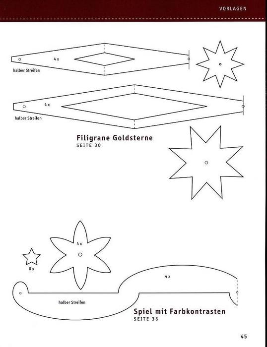 новогодние поделки из бумаги (49) (538x700, 105Kb)