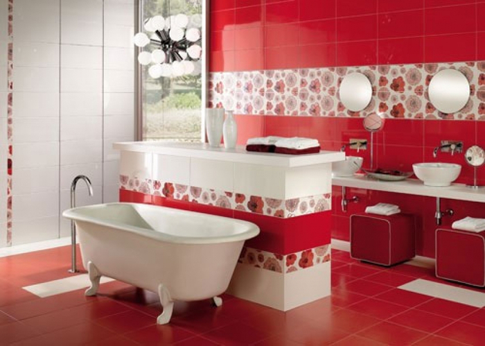 красивый дизайн ванной комнаты (700x499, 284Kb)