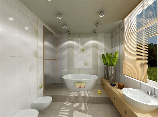красивый дизайн ванной комнаты 2 (640x474, 180Kb)