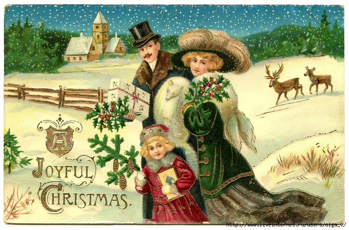 4964063_victorianchristmasclipartgraphicsfairy010 (700x462, 387Kb)