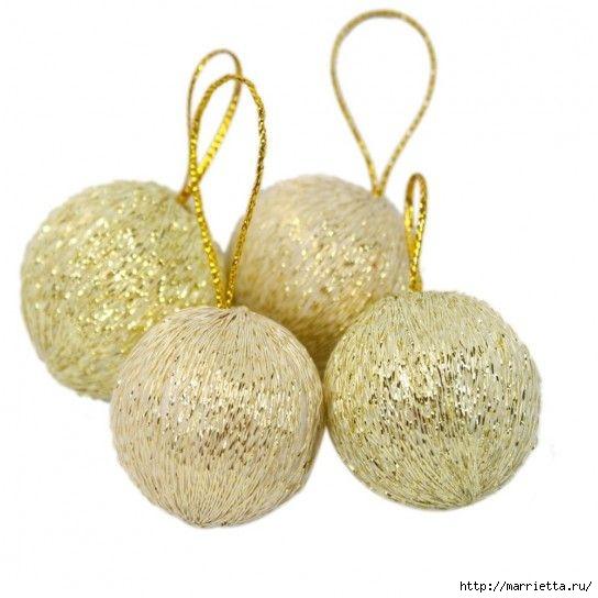 Королевские елочные шары. Вязание крючком (2) (544x544, 110Kb)