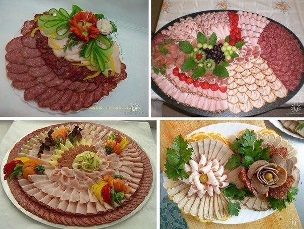 Украшение и необычные способы подачи блюд,салатов,выпечки и бутербродов . - Страница 5 107692566_5